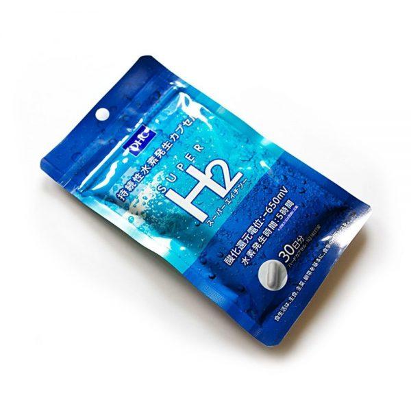 DHC Super H2 Probiotics Supplement 90 Capsules Made in Japan