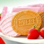 FUGETSUDO Gaufre 25S Vanilla, Strawberry Chocolate Cream Sandwich Made in Japan