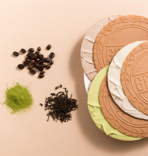 FUGETSUDO Gaufre Tea Matcha Coffee Cream Sandwich Made in Japan