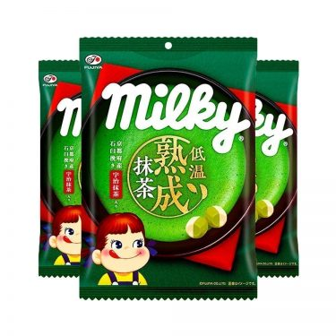 FUJIYA Aged Matcha Milky Bag Made in Japan
