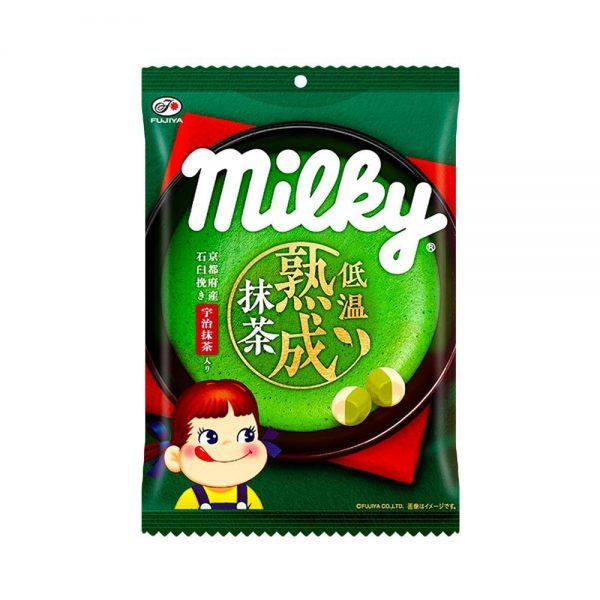 FUJIYA Aged Matcha Milky Bag Made in JapanFUJIYA Aged Matcha Milky Bag Made in Japan