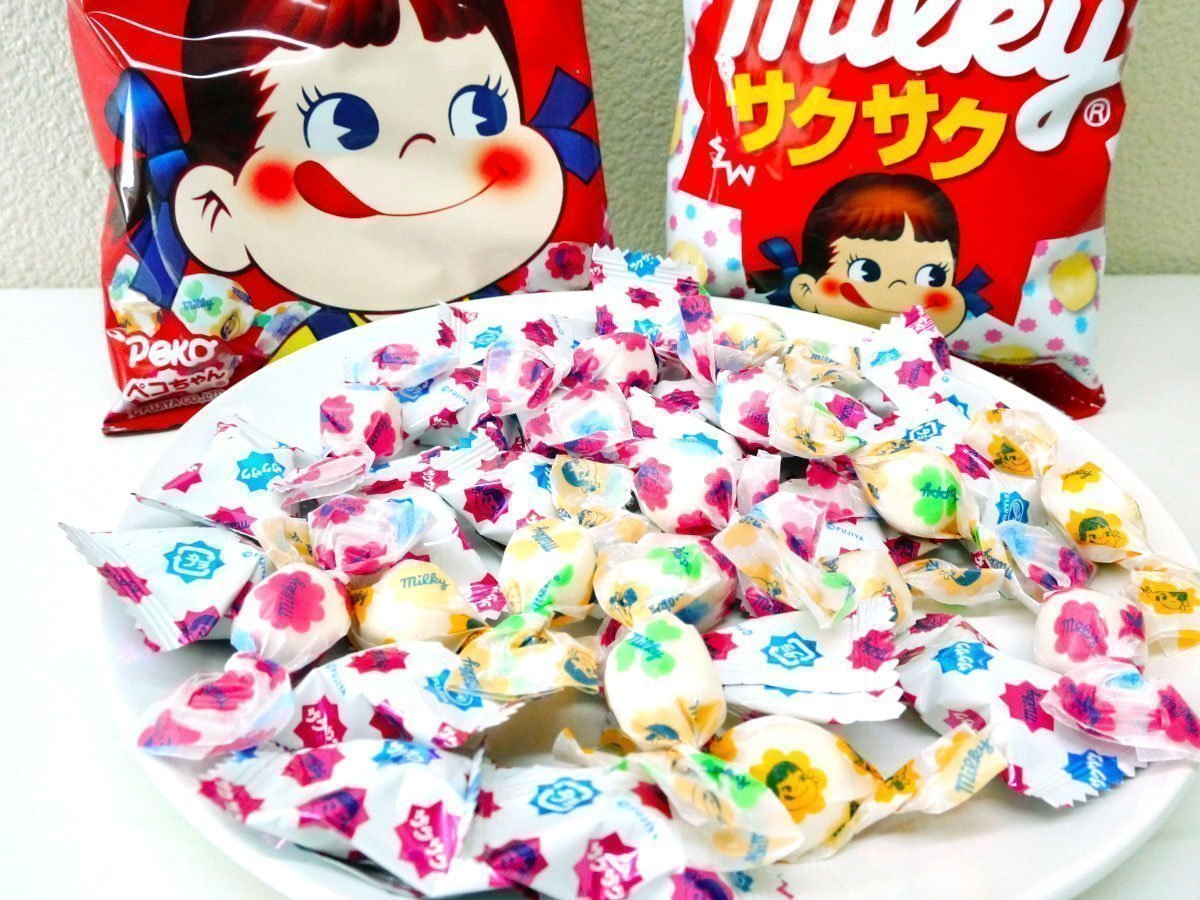 FUJIYA Milky Candy Made in Japan