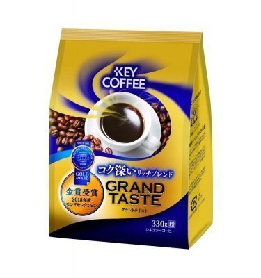 KEY COFFEE Grand Taste Rich Blend Ground Coffee Gold Award Made in Japan