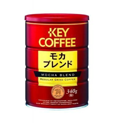 KEY COFFEE Mocha Blend Aluminium Can Tin Pack Made in Japan