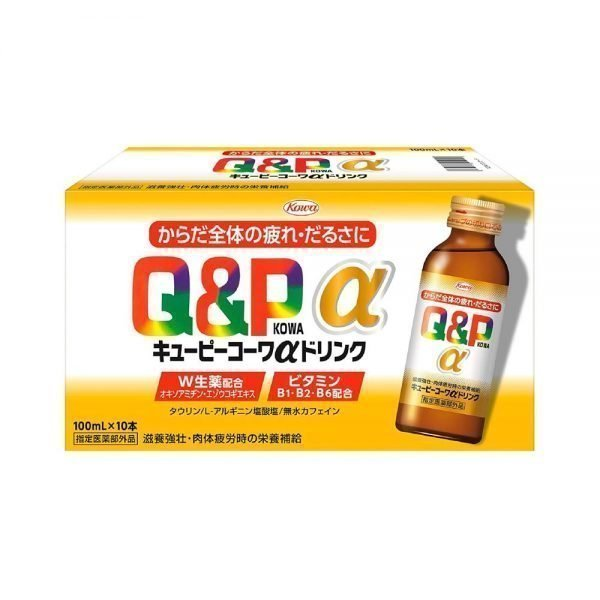 KOWA Q&P Kowa Gold Alpha Plus Drink Made in Japan