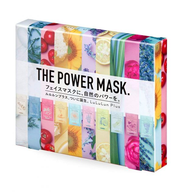 LULULUN Plus The Power Masks Special Box Made in Japan