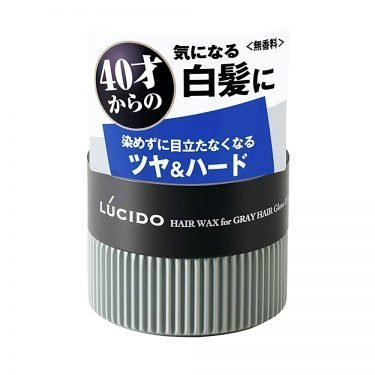 MANDOM Lucido Hair Wax For Gray Hair Gloss Hard Made in Japan