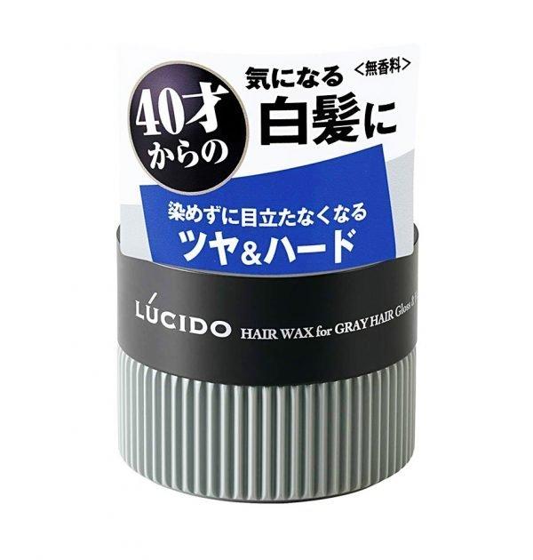 MANDOM Lucido Hair Wax For Gray Hair Gloss Hard Made in Japan