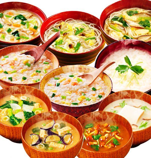 NAGATANIEN Itawari Miso Soup Seaweed Tofu Made in Japan