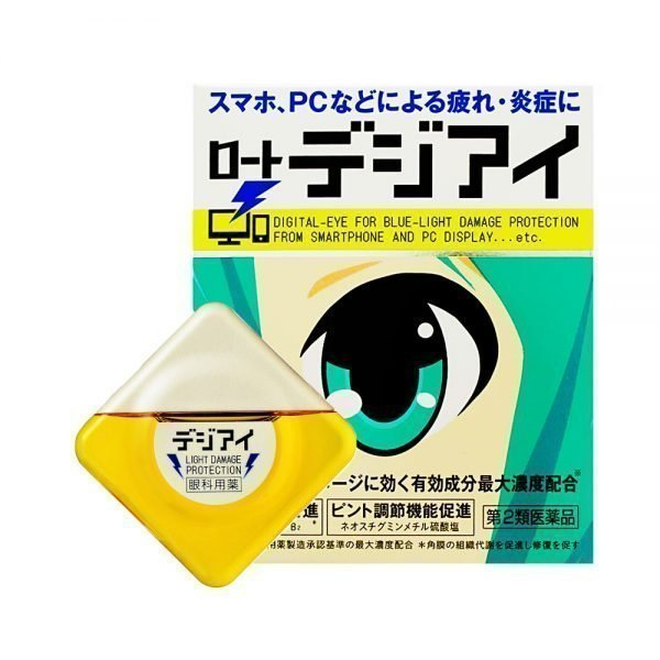 ROHTO Digi Eye Drops Hatsune Miku Made in Japan