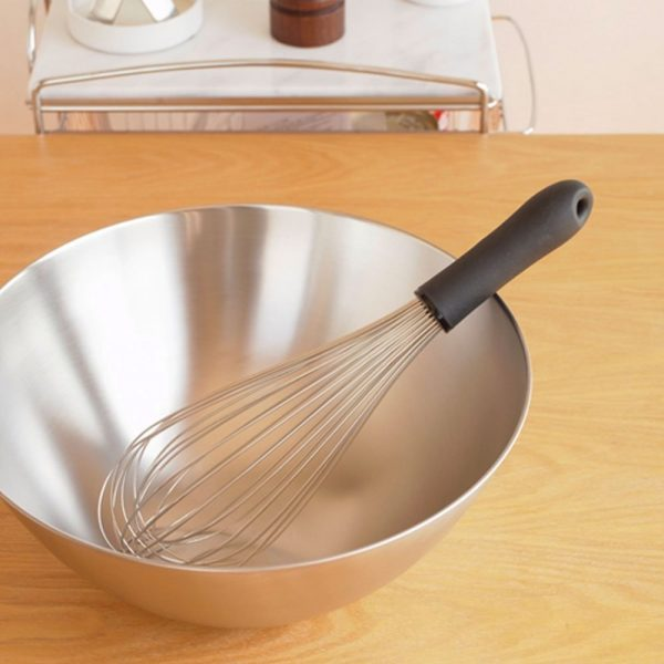 SORI YANAGI Stainless Steel Kitchen Whisk Made in Japan