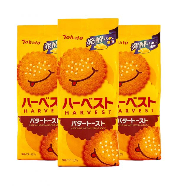 TOHATO Harvest Super Thin Appetising Butter Toast Biscuits Made in Japan