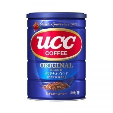 UCC Original Deep Taste Blend Drip Coffee Can Tin Grind Coffee Made in Japan