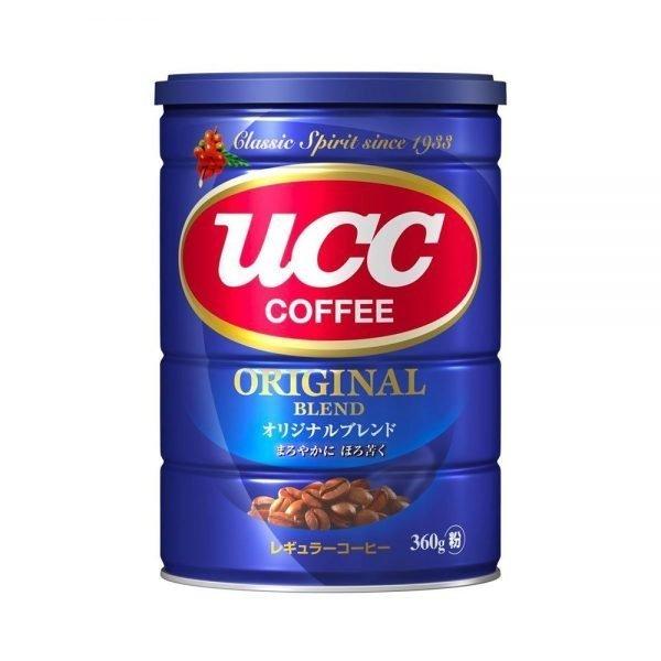 UCC Original Deep Taste Blend Drip Coffee Can Tin Grind Coffee Made in Japan