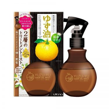 UTENA Yuzu-Yu Hair Oil Mist Plant-Based Made in Japan