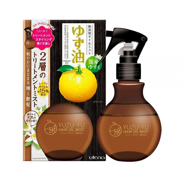 UTENA Yuzu-Yu Hair Oil Mist Plant-Based Made in Japan