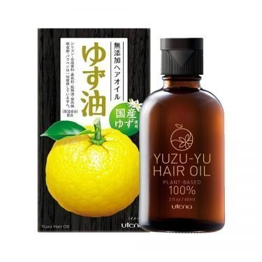 UTENA YuzuYu Hair Oil Plant-Based Made in Japan