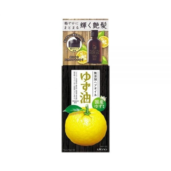 UTENA YuzuYu Hair Oil Plant-Based Made in Japan