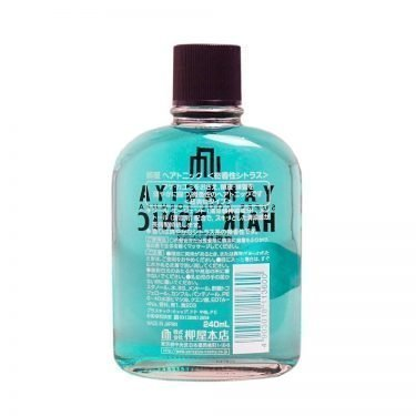 YANAGIYA Hair Tonic Super Cool Formula Subtle Citrus Fragrance Made in Japan