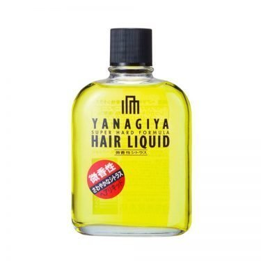 YANAGIYA Hair Tonic Super Hard Formula Subtle Citrus Fragrance Made in Japan