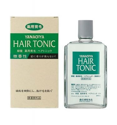 YANAGIYA Medicated Hair Growth Tonic Made in Japan