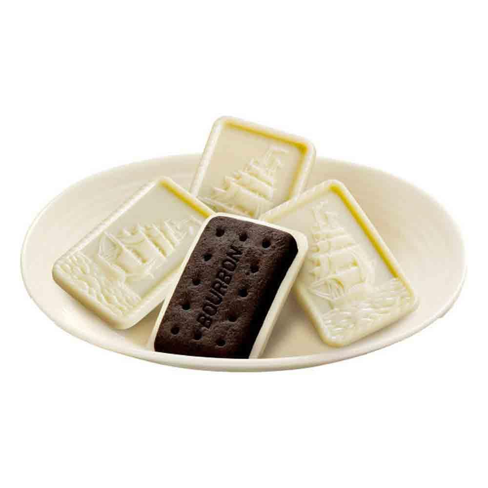 Bourbon Alfort Mini Schokolade Vanille Kekse Japan Dagashi Snack