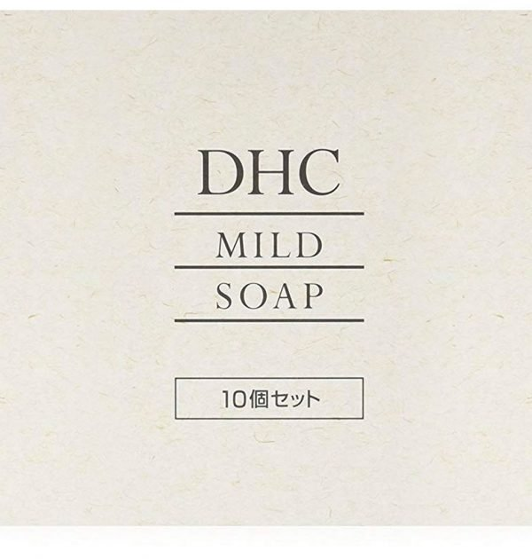 DHC Mild Cleansing Soap with Honey Made in Japan