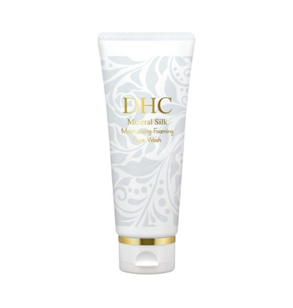 DHC Mineral Silk Moisturizing Foaming face Wash Made in Japan