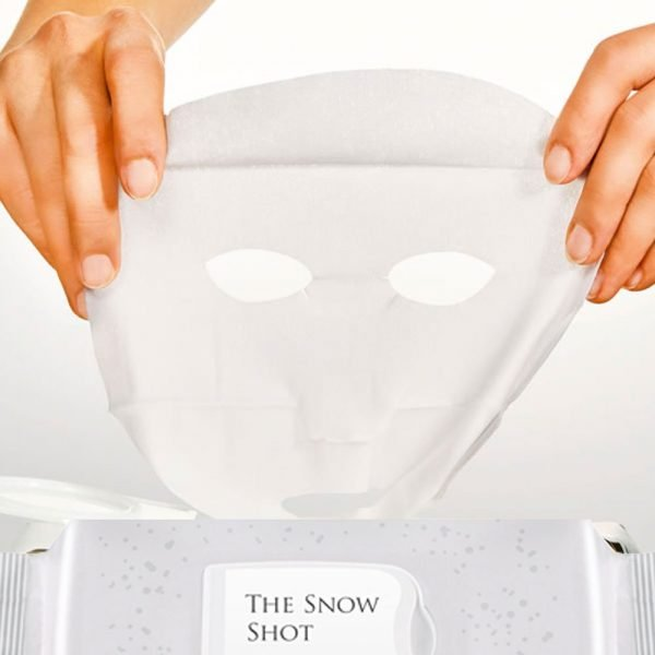 DHC The Snow Shot Brightening Whitening Sheet Masks Made in Japan