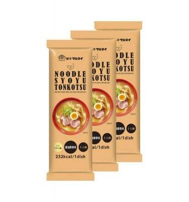 MARUTAI Non-fried Straight Noodle Syoyu Tonkotsu Pork Bone Soup Made in Japan
