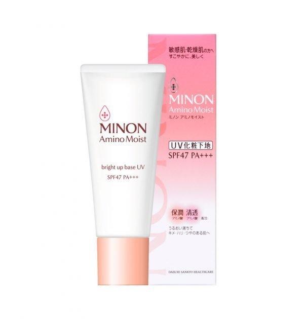 MINON Amino Bright Up UV Make-up Base Made in Japan