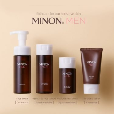 MINON MEN Amino Face Wash Foam-Type Made in Japan