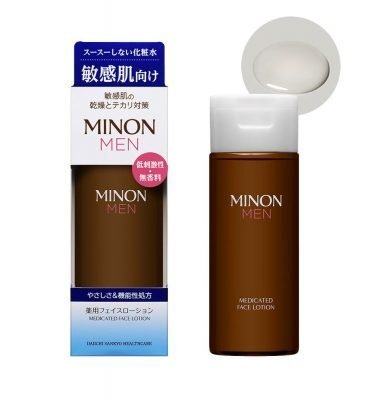 MINON MEN Amino Medicated Face Lotion Made in Japan