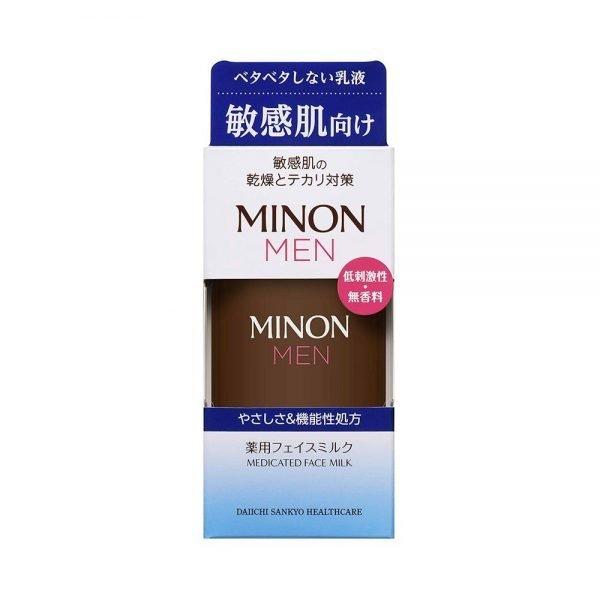MINON MEN Amino Medicated Face Milk Made in Japan