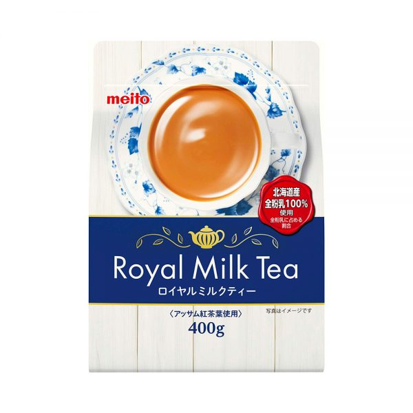 MEITO SANGYO Instant Royal Milk Tea Powder Made in Japan