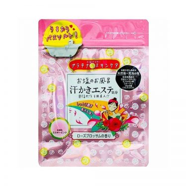 SOAPMAX Sweaty Beauty Feeling Skin Care Rose Bath Powder Made in Japan