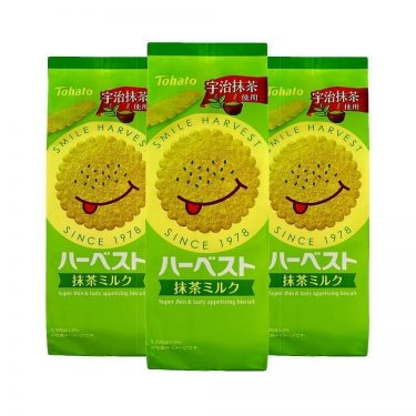 TOHATO Harvest Super Thin Appetising Match Milk Biscuits Boxes Made in Japan