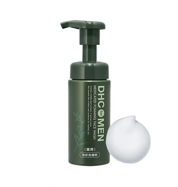 DHC MEN Medicated Foaming Face Wash Made in Japan