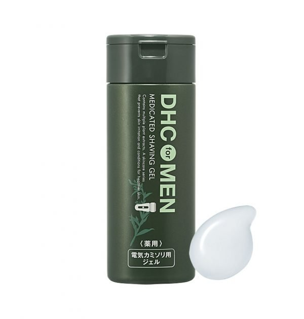 DHC MEN Medicated Shaving Gel 140ml - Made in Japan