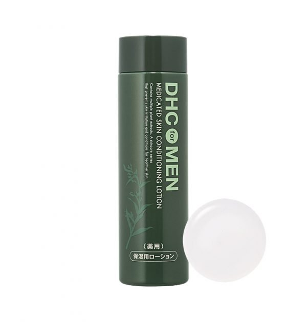 DHC MEN Medicated Skin Conditioning Lotion Made in Japan