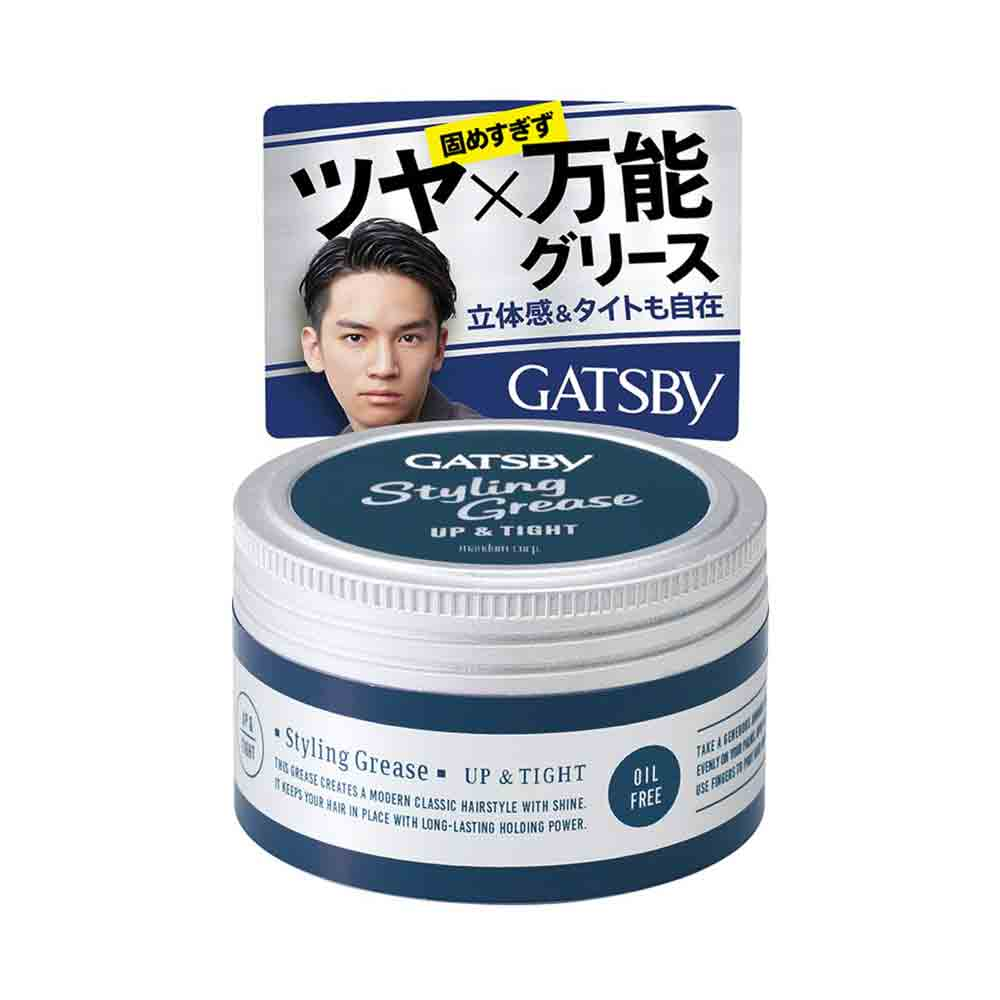 Gatsby Styling Grease Gel Up Amp Tight Oil Free 100g Made