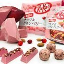 Kit Kat Ruby Chocolate Everyday Nuts Cranberry Available Only in Japan