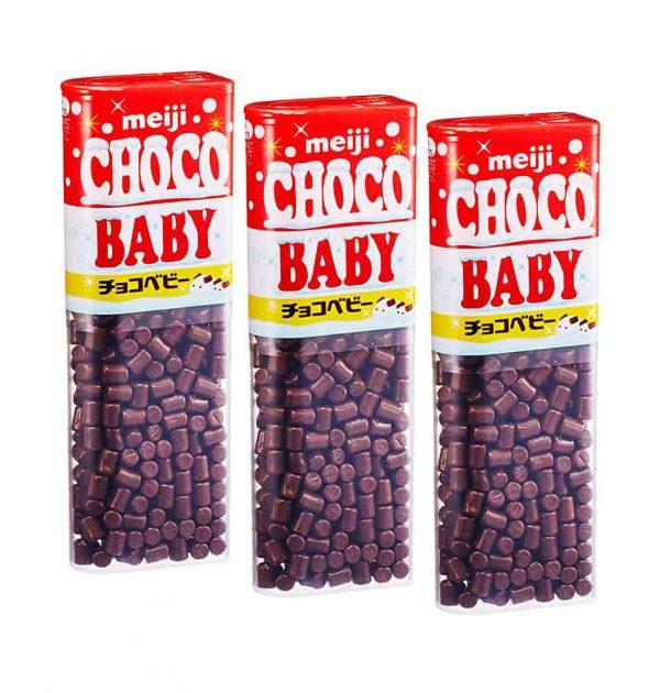 MEIJI Choco Baby Chocolates Bags Made in Japan