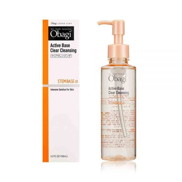 OBAGI Active Base Clear Cleansing Intensive Solution for Skin Steam Base Alfa Made in Japan