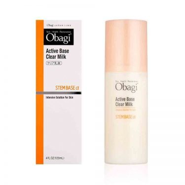 OBAGI Active Base Clear Milk Intensive Solution for Skin Steam Base Alfa Made in Japan