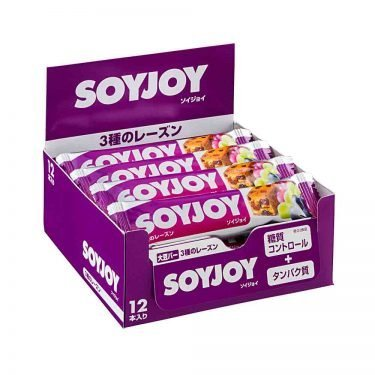 SOYJOY Raisin Bar Made in Japan