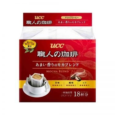 UCC Craftsman Drip Coffee Deep & Rich Mochaa Blend Made in Japan