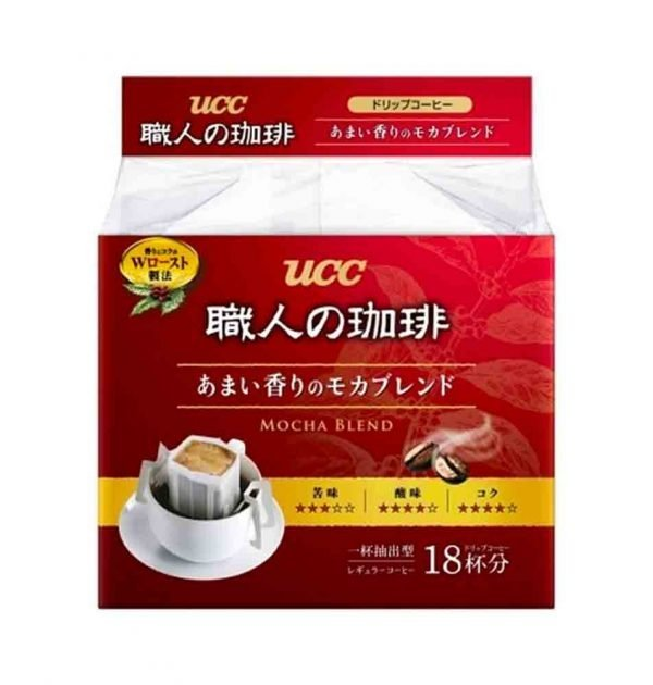 UCC Craftsman Drip Coffee Deep & Rich Mochaa Blend Made in Japan