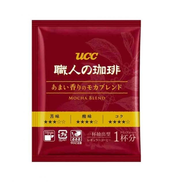 UCC Craftsman Drip Coffee Deep & Rich Mocha Blend Made in Japan