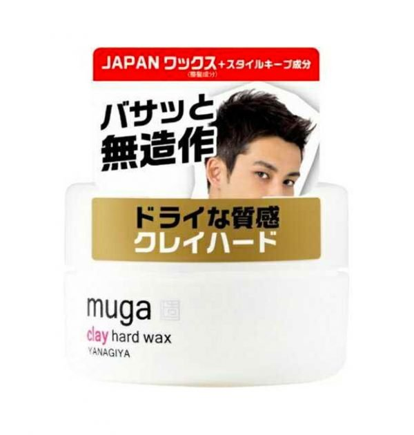 YANAGIYA Muga Prexceed Clay Hard Wax Made in Japan